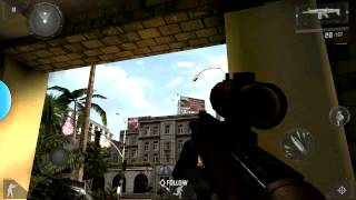 Modern combat 3 ps3 control key map! En espanol