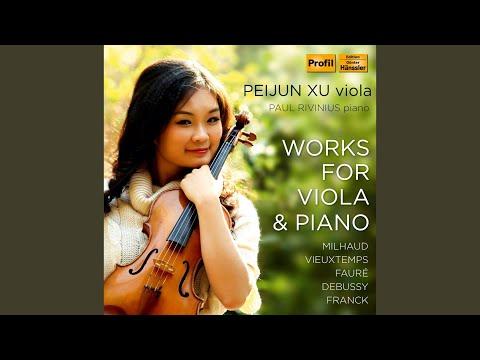 Viola Sonata in B-Flat Major, Op. 36: III. Finale scherzando: Allegretto