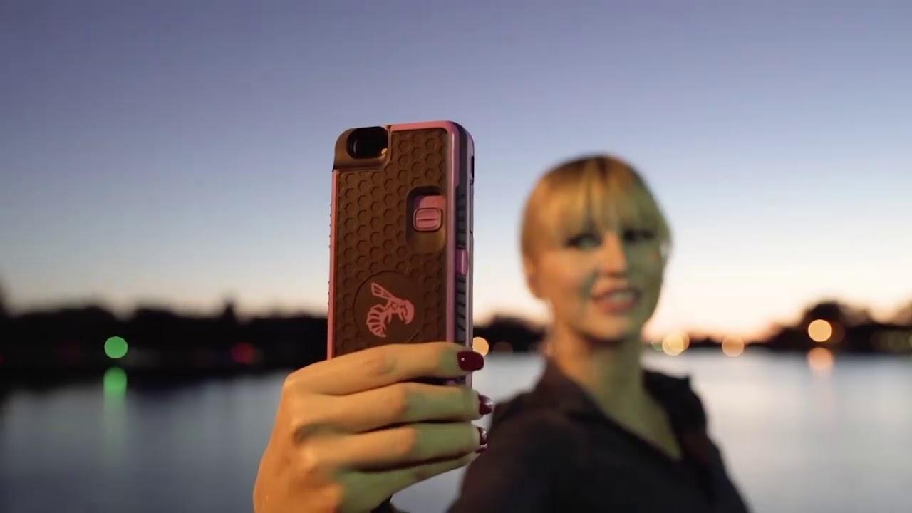 size 40 27b60 2edf3 Yellow Jacket Stun Gun iPhone Case | The Ultimate Self Defense Phone Case