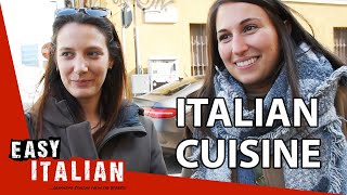 What is your favourite Italian food? | Easy Italian 37
