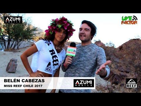 Belén Cabezas - Ganadora Miss Reef Chile 2017 #MissReef2017