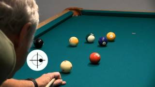 How to Use Spin-Induced Throw (SIT) to Hold the Cue Ball in 8-ball, from Disc II of VEEB