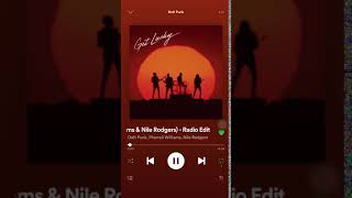 Daft Punk, Pharreell Williams, Nile Rodgers - Get Lucky *INTRO*NO ROYALTY*