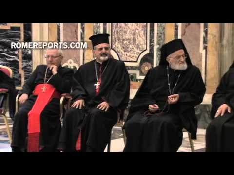 Pope to Eastern Catholics: Never resign ourselves to a Middle East without Christians