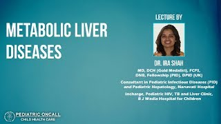 Metabolic Liver Diseases