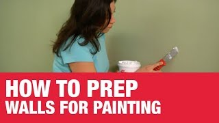 How To Prep Walls for Painting -- Ace Hardware