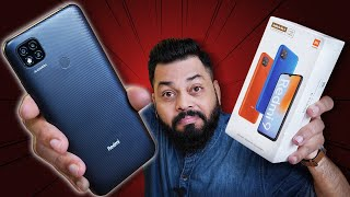 Redmi 9 Unboxing & First Impressions ⚡⚡⚡ MediaTek Helio G35, 4GB RAM, MIUI 12 & More