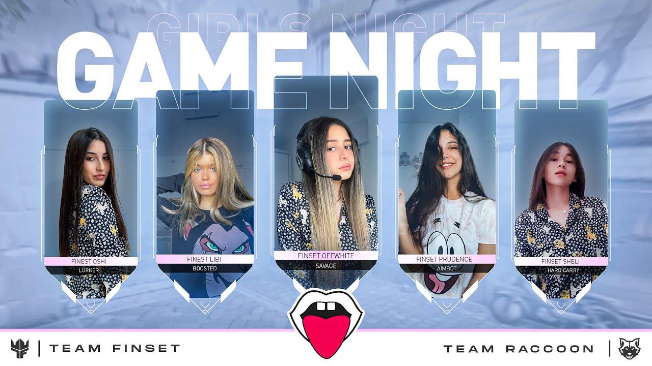 Download לייב ולורנט - משחק ראווה   ערב גיימינג בחסות פיקס עם קבוצת הבנות של פיינסט!