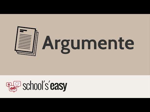 Aufbau eines Arguments - Erörterung