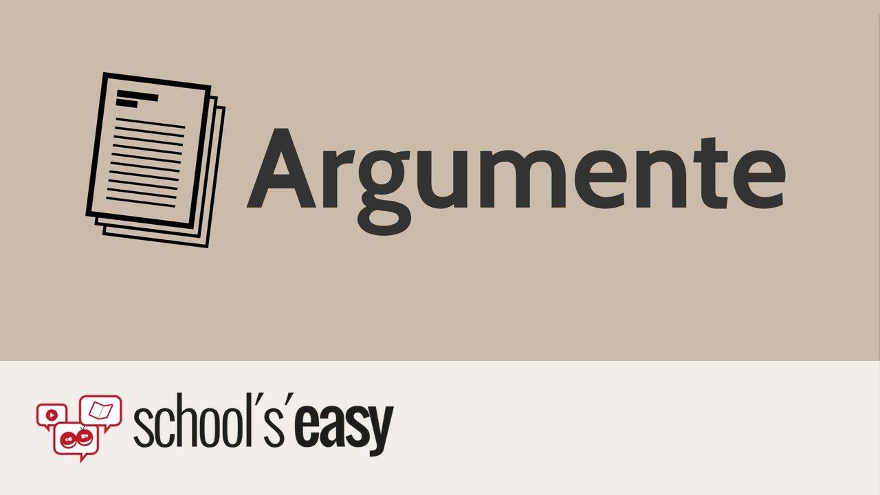 aufbau eines arguments errterung - Erorterung Englisch Beispiel