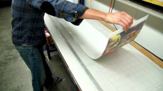 J ski building - Digitally printing ski graphics