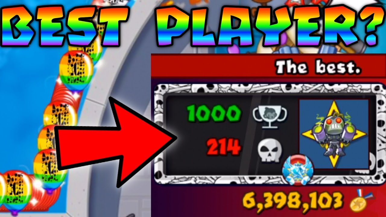 BATTLING The BEST PLAYER IN THE WORLD? (i got robbed   ) - Bloons TD Battles
