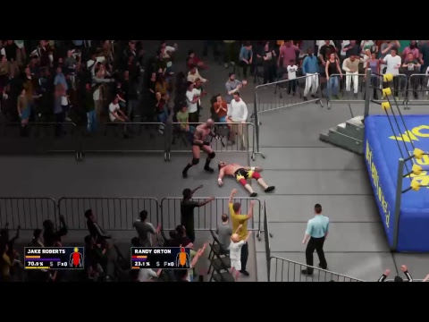 Scoop dan  wwe 2k18 universe WCW Uncensored WCW Television Title Fatal 4 way