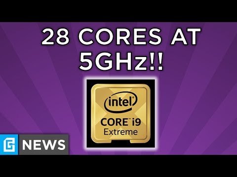 28 Core Intel CPU Running At 5ghz, GTX 1180 Coming July 30th?!