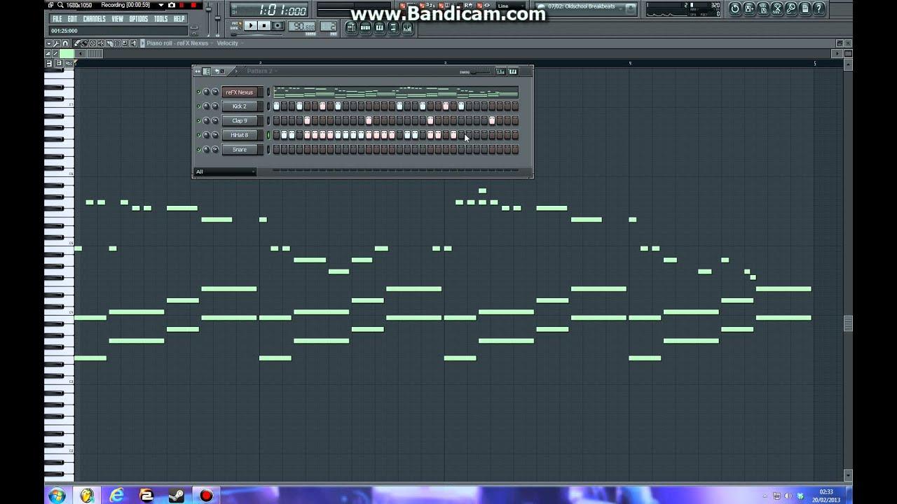 Fl Studio - Eminem, Mocking Bird Piano Lead - YouTube