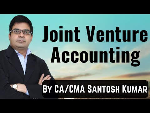 Joint Venture by CA /CMA Santosh Kumar MOB :-9999631597