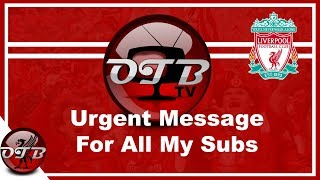URGENT Message To All My Subscribers PLEASE WATCH NOW