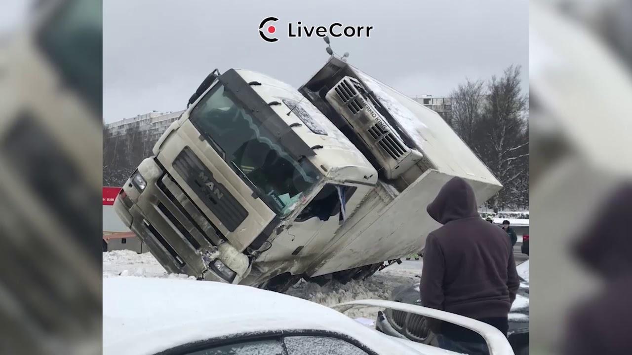 Беспредел на дороге: ДТП, аварии, хамы на дороге за 14.01.2019
