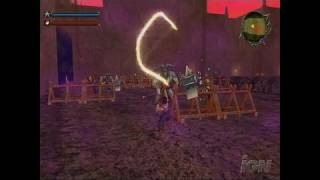 Dragon Blade: Wrath of Fire Nintendo Wii Gameplay - Dragon