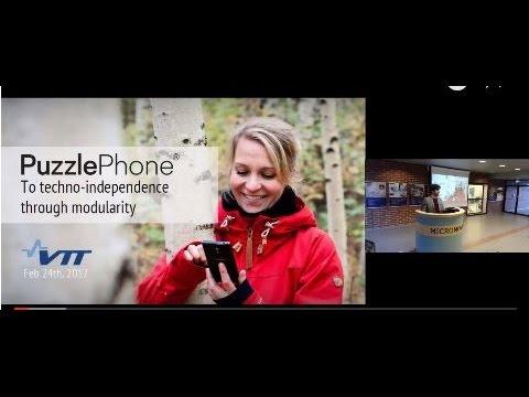 #VTTTechTalks: PuzzlePhone (24.2.2017)