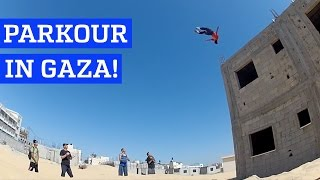 Parkour & freerunning in Gaza | PEOPLE ARE AWESOME