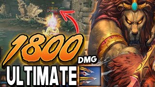 Smite: 1800 DAMAGE ANHUR ULT Build - You've Never Seen Damage Like This!