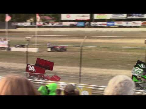 Deming Speedway, WA - Micro 600R Heat Race (Ben Ferrara) - 08/09/19