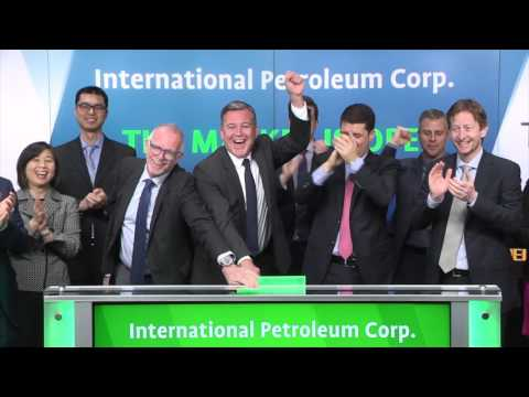 International Petroleum Corp. opens Toronto Stock Exchange, May 10, 2017