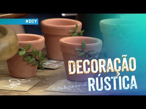 Decoração rústica por Ju Françozo