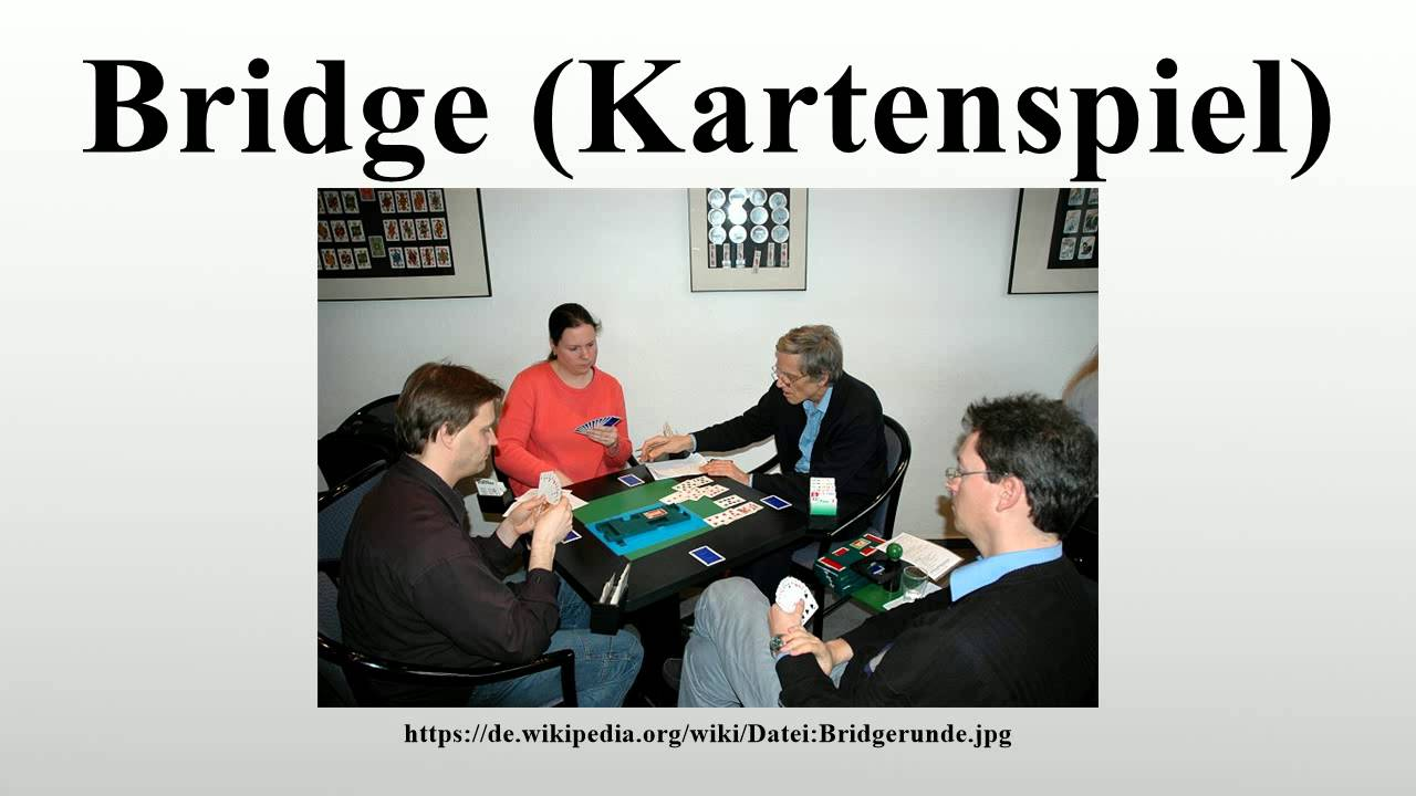 Kartenspiel Bridge