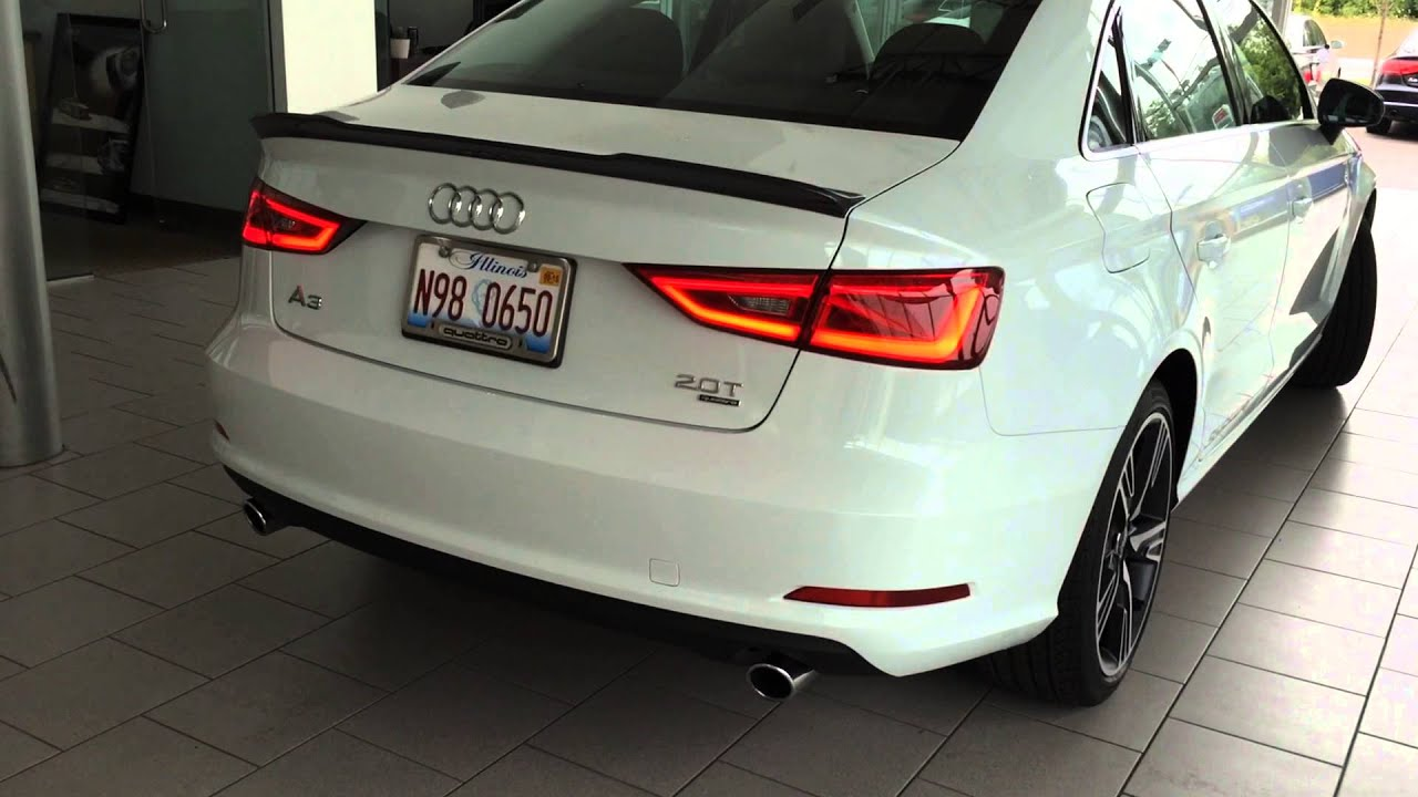 official audi a3 accessories walk around youtube. Black Bedroom Furniture Sets. Home Design Ideas