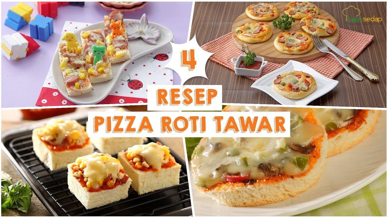 Resep Pizza Roti Tawar Masak Pakai Teflon Saja