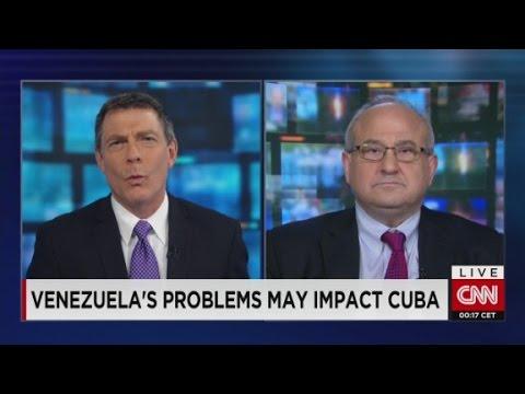 Venezuela's problems may impact Cuba