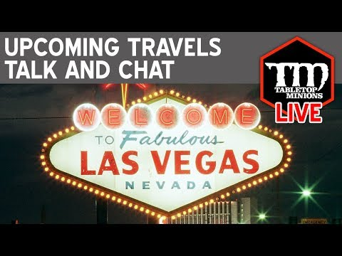Upcoming Travels Talk and Chat LIVE