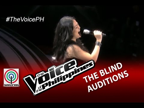 "The Voice of the Philippines Blind Audition ""What About Love"" by Tanya Diaz (Season 2)"