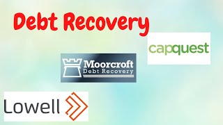 How to deal with debt recovery companies in the UK.
