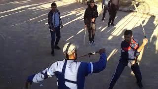 رياضة ضرب العصا ( شيخ عبد القادر- مقطع دوز).