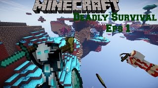 Minecraft Modded Survival-NeverMine 2-Deadly survival Eps 1 Getting started