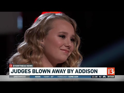 The Voice judges blown away by Addison