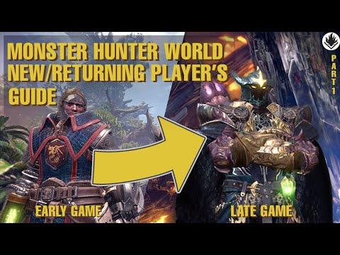 Monster Hunter World Beginner |  Returning Players&39; Guide 2021