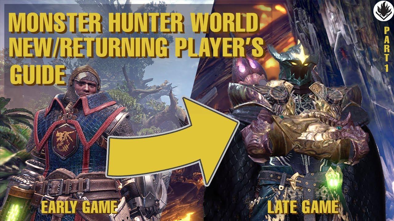Monster Hunter World Beginner    Returning Players' Guide 2021