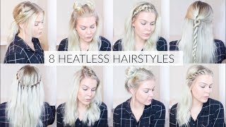 8 Heatless Back To School Hairstyles | EverydayHairInspiration