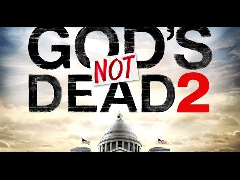 I am being tormented by advertisements for God's Not Dead 2 :(