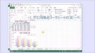 たった3分で  自分のグラフを動かす(実演)最速・簡単な作り方 エクセル Excel アニメーション グラフ