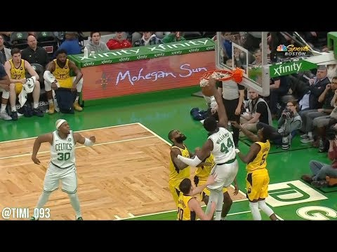 Robert Williams impresses against the Pacers with six points and two amazing blocks