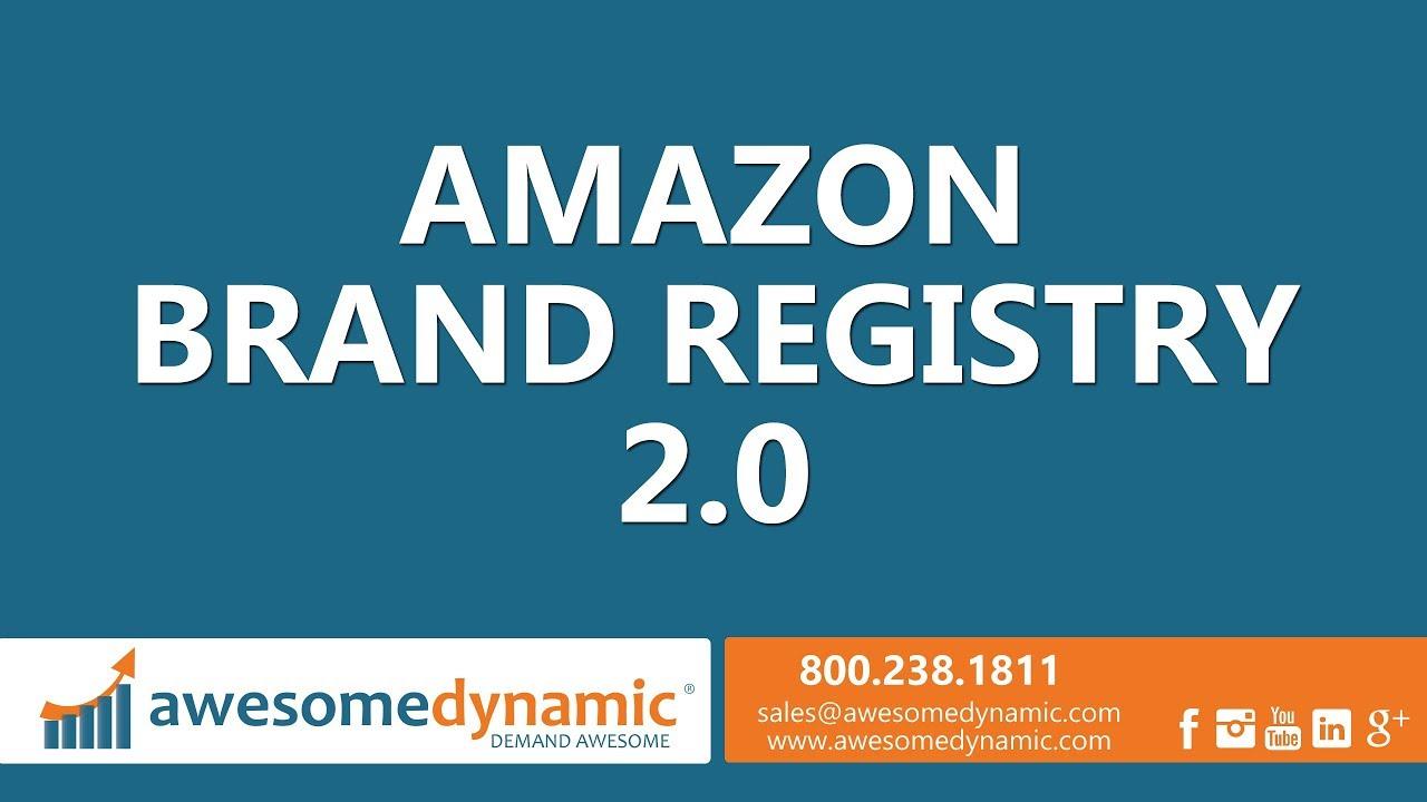 amazon brand registry 2.0