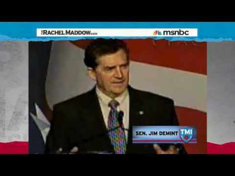 Rachel Maddow-Meet Senator Jim DeMint
