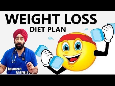 Excellent Weight Loss Diet plan | Dr.Education