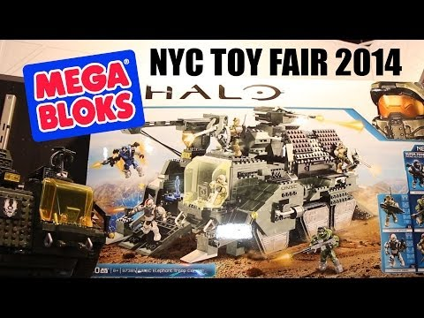Halo & Call Of Duty Mega Bloks @ 2014 NYC Toy Fair (New And Current Sets)