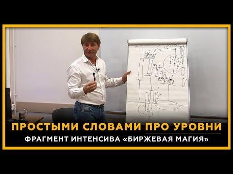 Простыми словами про Уровни. Фрагмент интенсива Биржевая Магия. Сергей Змеев. 18+